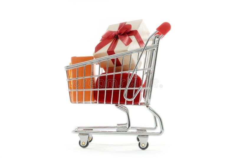 prezentów na zakupy. fotografia stock