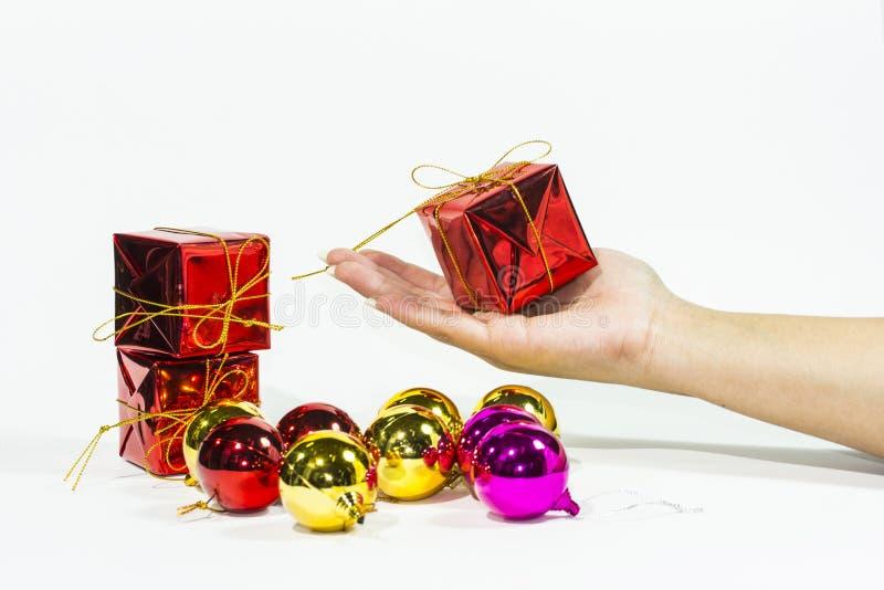 Download Prezent zdjęcie stock. Obraz złożonej z wakacje, christmas - 28956052