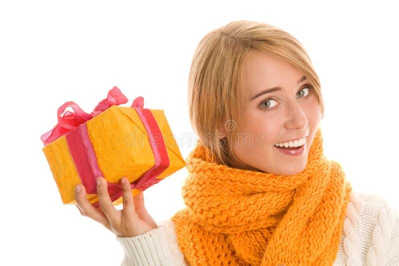 prezent kobieta zdjęcia royalty free