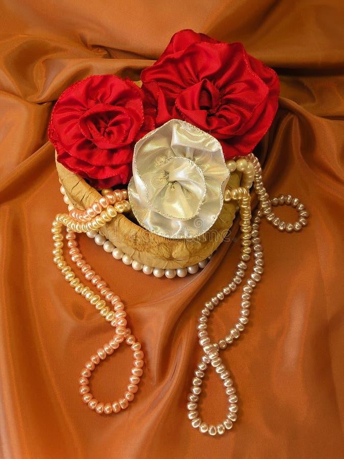 prezent pudełkowate perły obrazy royalty free