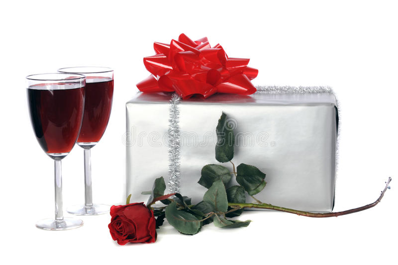 prezent romantyczny fotografia royalty free