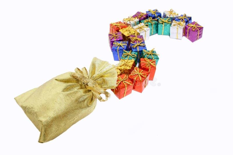 prezent tęcza zdjęcia stock