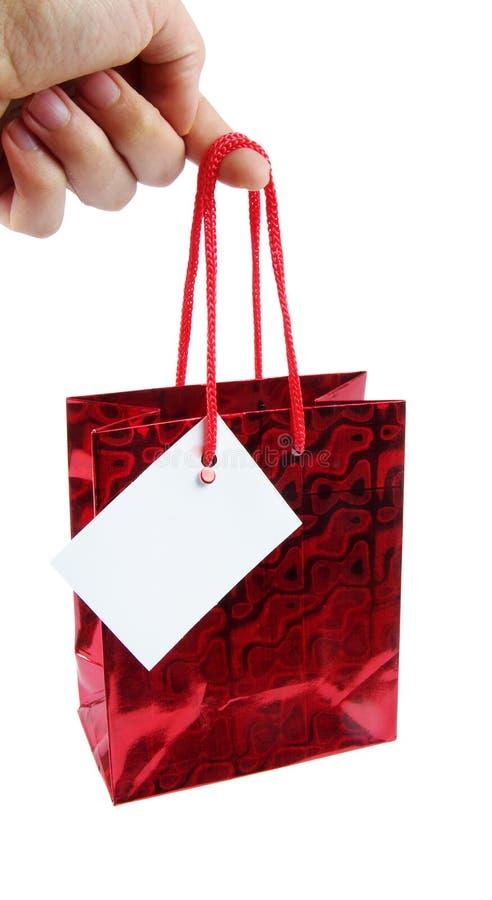 Prezent torba obrazy royalty free
