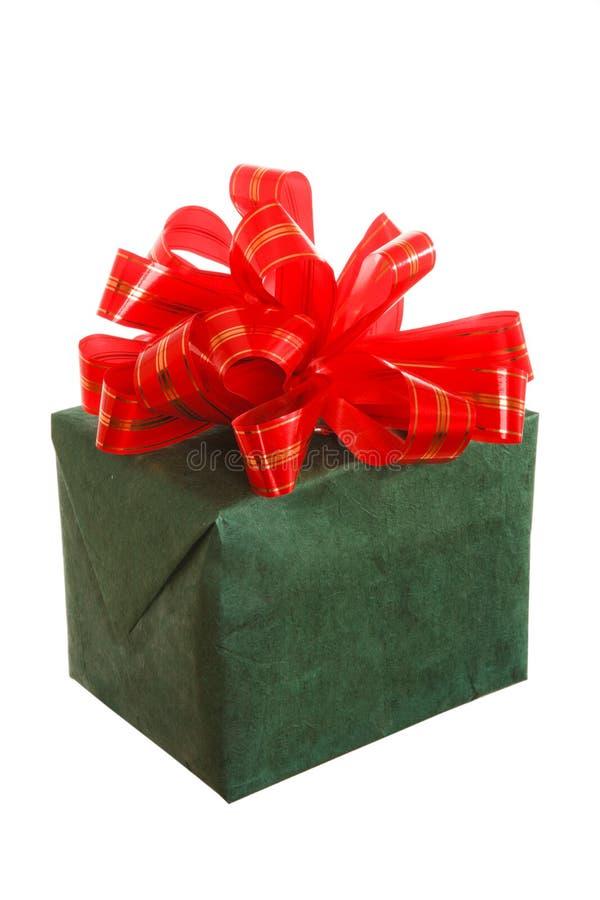 prezenta piękny pudełkowaty biel zdjęcia stock