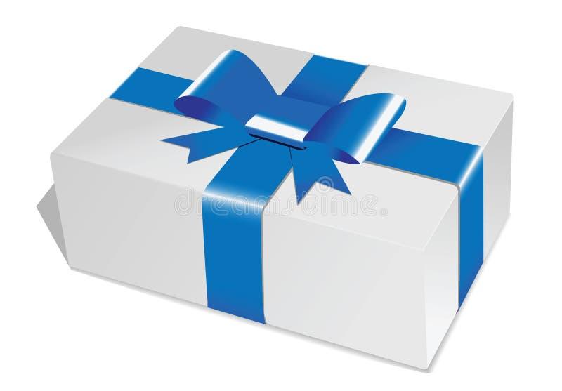Prezenta pudełko royalty ilustracja