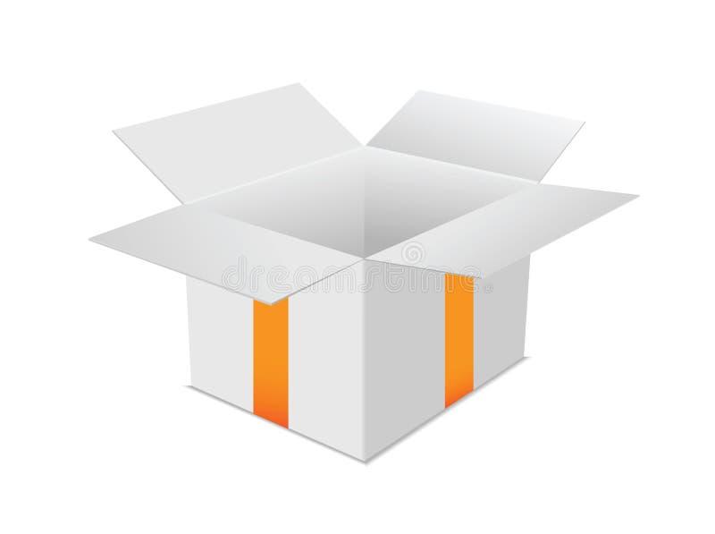 Prezenta pudełko ilustracja wektor