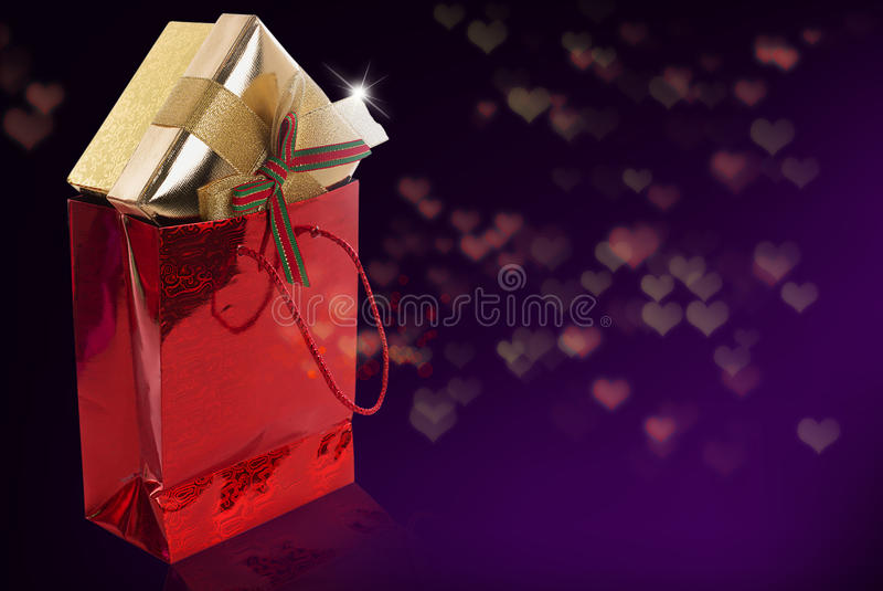 Prezenta pudełko fotografia royalty free