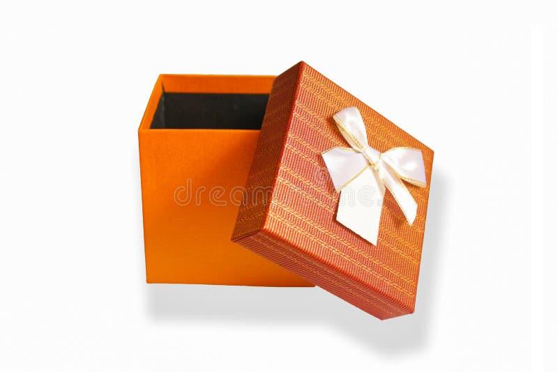 Prezenta pudełko zdjęcia stock