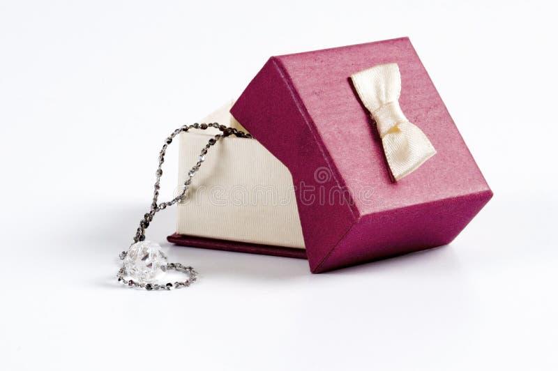 prezenta pudełkowaty ślub obraz royalty free