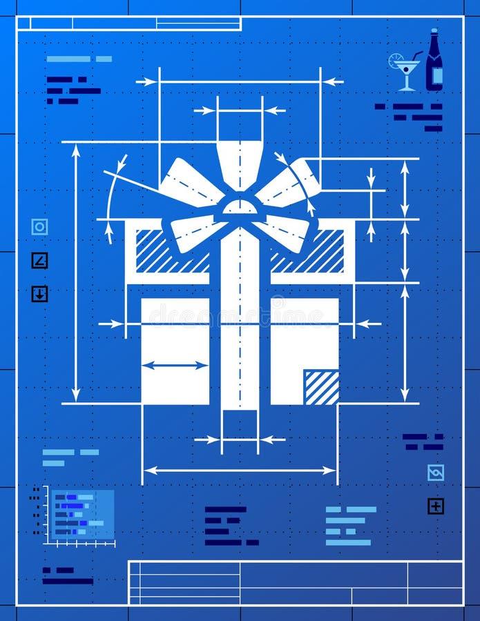 Download Prezenta Symbol Lubi Projekta Rysunek Ilustracja Wektor - Obraz: 34649350