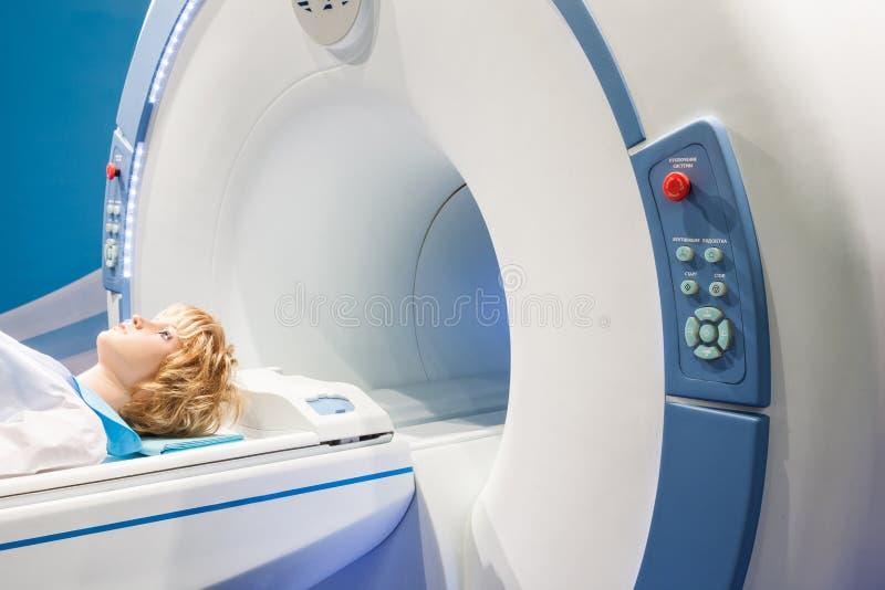Prezentacja diagnostyczny tomograph obraz stock