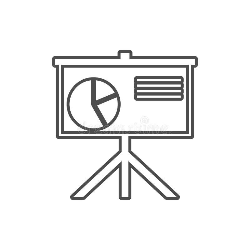 prezentacja pasztetowej mapy ikona Element cyber ochrona dla mobilnego pojęcia i sieci apps ikony Cienieje kreskową ikonę dla str royalty ilustracja