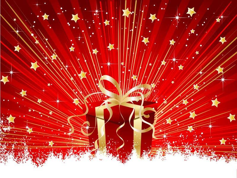 prezenty świąteczne ilustracja wektor