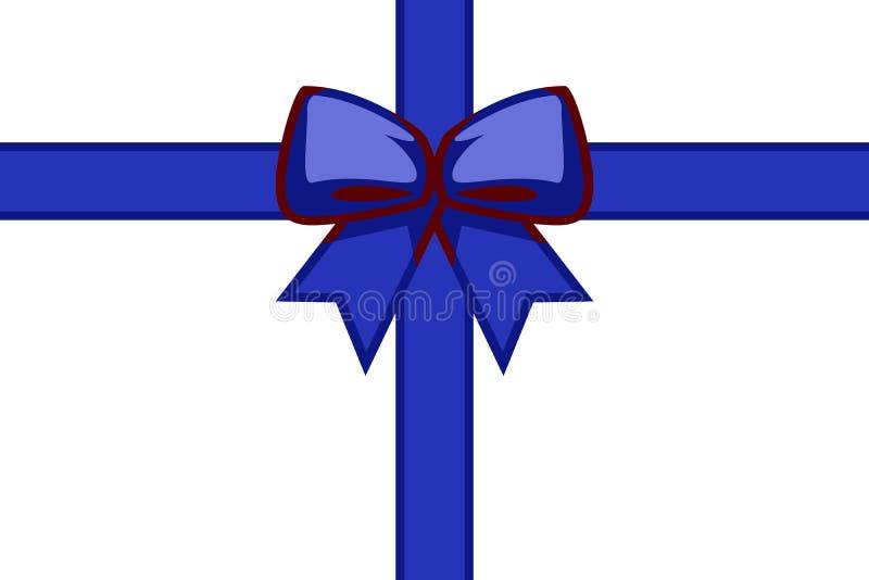 prezenty świąteczne tasiemkowe ilustracja wektor