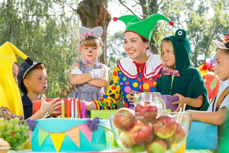Prezenty dla dzieciaków fotografia stock