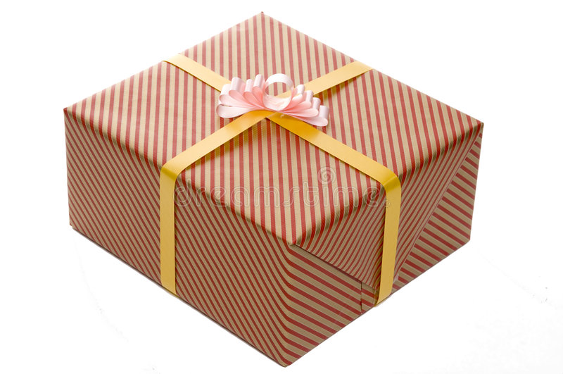 prezenty opakowane zdjęcie stock
