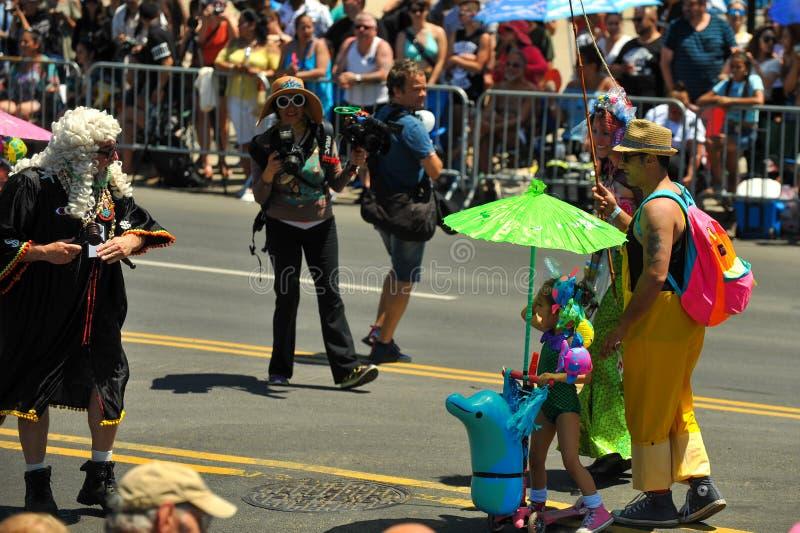 Prezes Sądu przy 36th roczną syrenki paradą w Coney Island obrazy stock