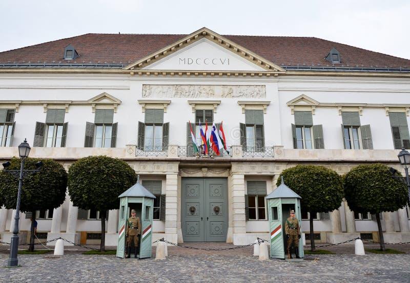 Prezydencki pałac w Budapest obraz royalty free