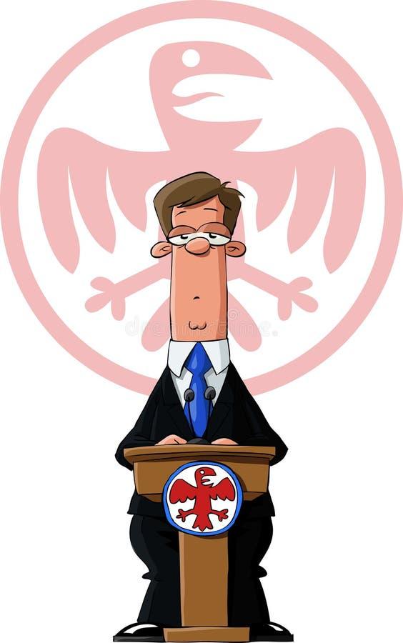 prezydent ilustracja wektor