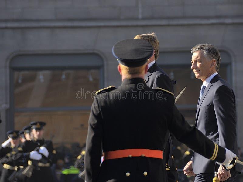 Prezydent Argentyńska republika Macri zdjęcie stock