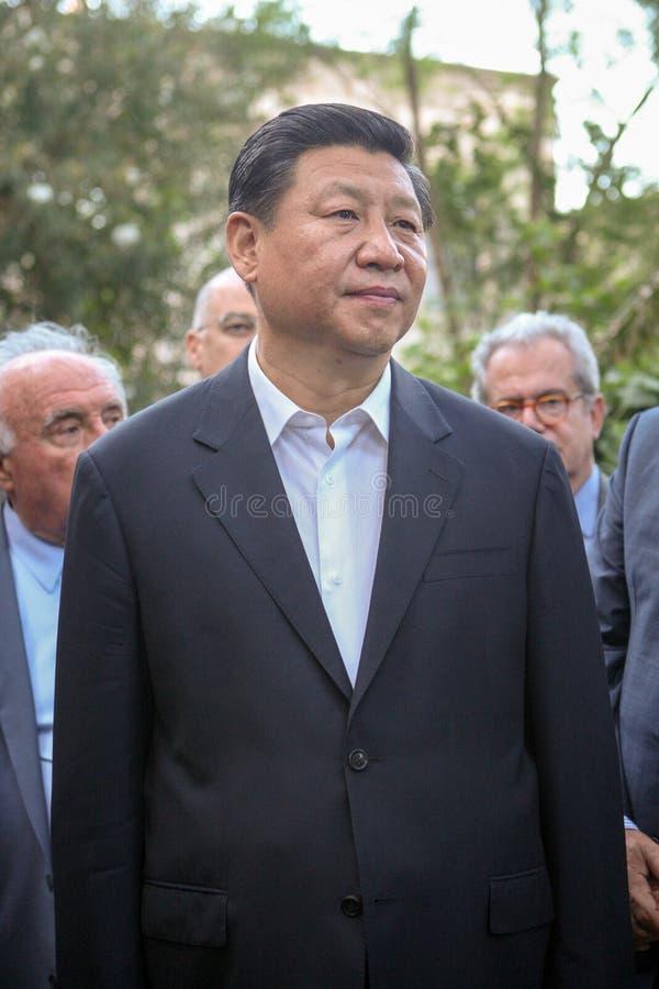 Prezydent ludzie republiki Chiny XI. Jinping obraz stock