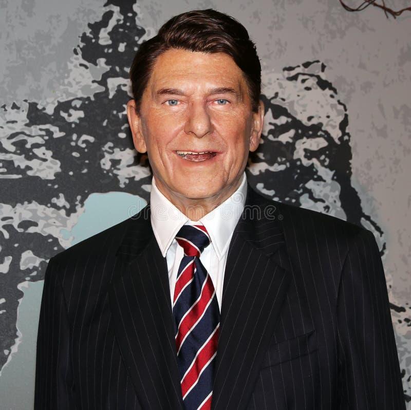 prezydent Reagan Ronald obraz stock