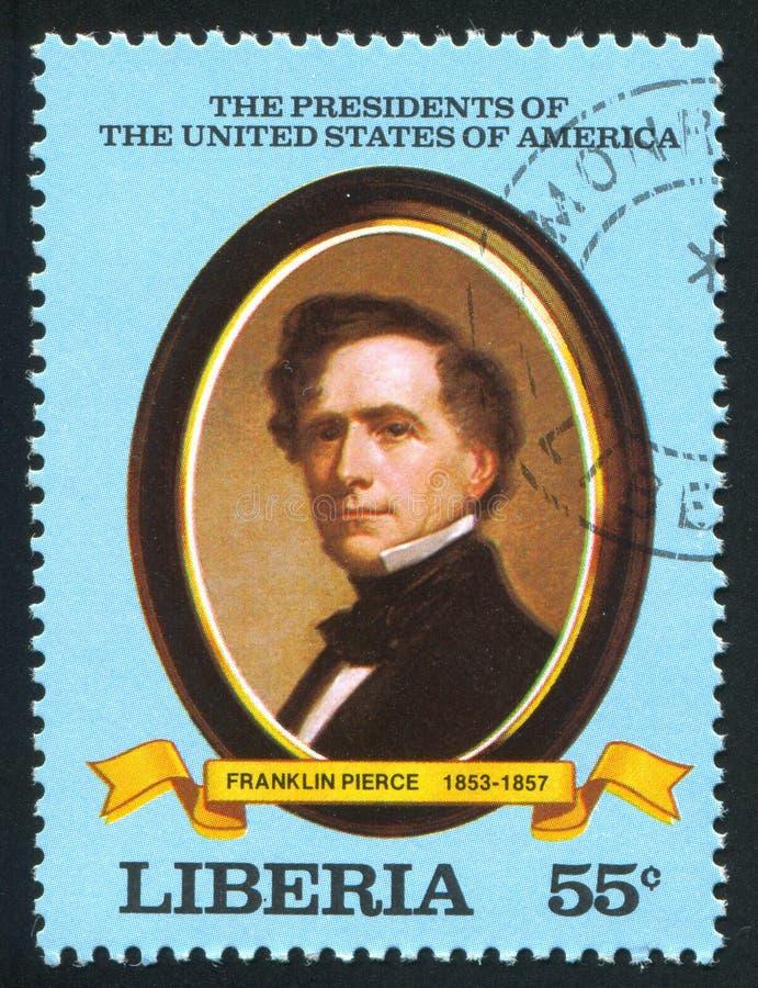 Prezydent Stanów Zjednoczonych Franklin Pierce fotografia royalty free