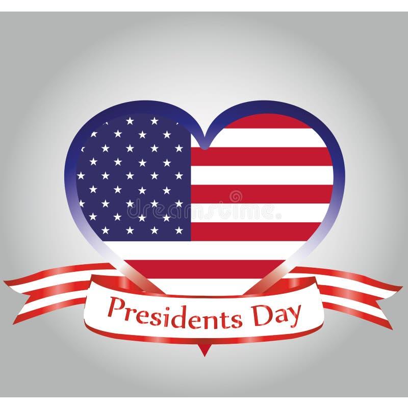Prezydenta dzień ilustracji