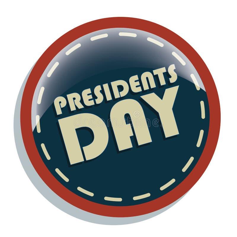 Prezydenta dzień royalty ilustracja