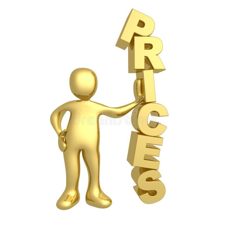 Prezzi illustrazione vettoriale
