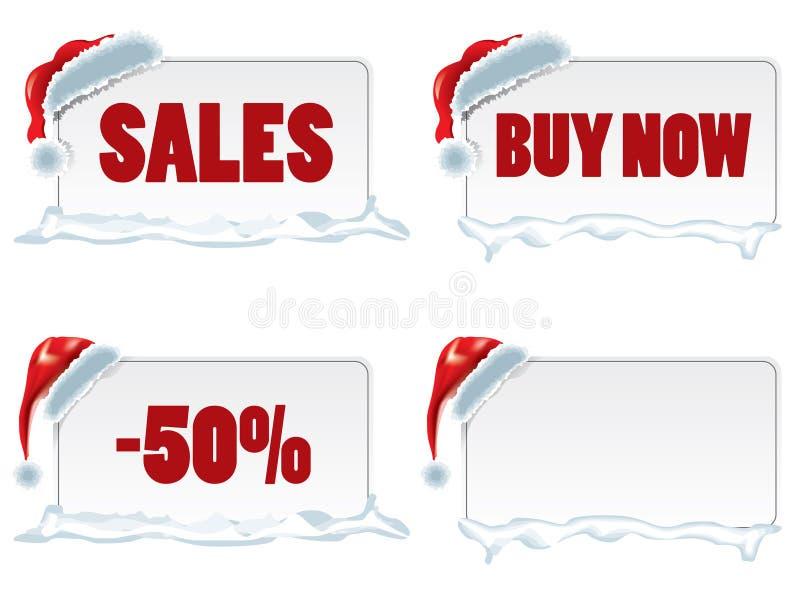 Prezzi da pagare di natale illustrazione vettoriale
