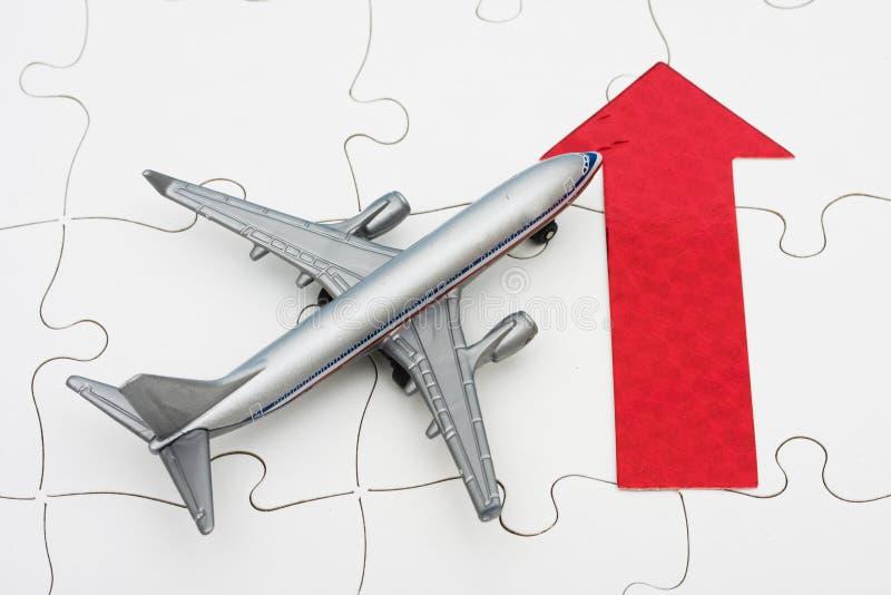 Prezzi di comprensione di linea aerea fotografia stock libera da diritti