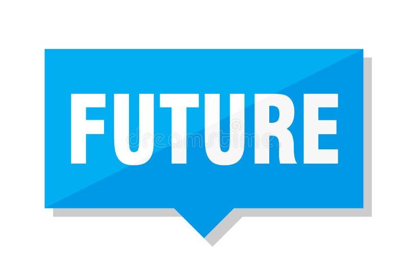 Prezzo da pagare futuro illustrazione vettoriale