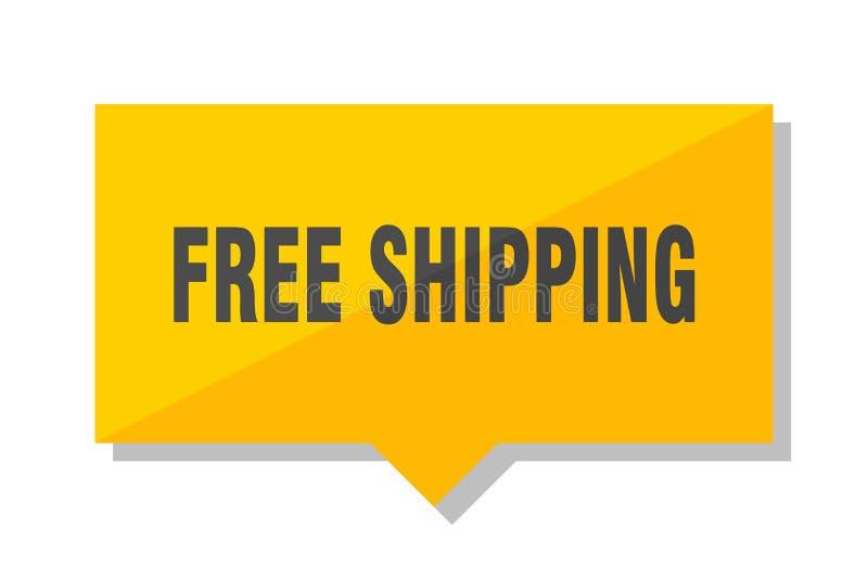 Prezzo da pagare libero di trasporto royalty illustrazione gratis