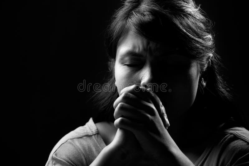 prière image stock
