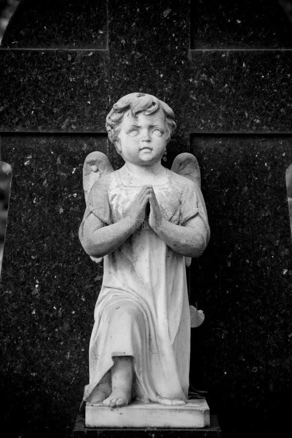 Prière d'ange photos libres de droits