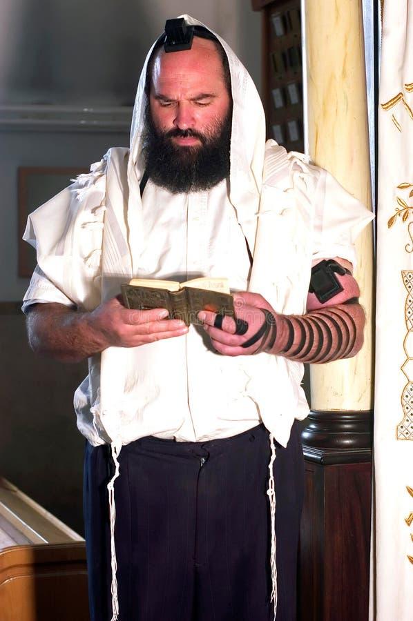 Prière juive d'homme photographie stock