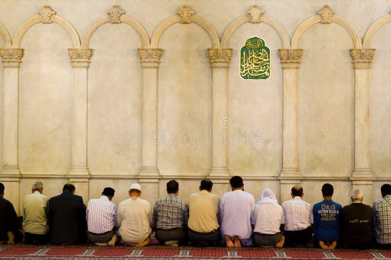 prière musulmane image libre de droits
