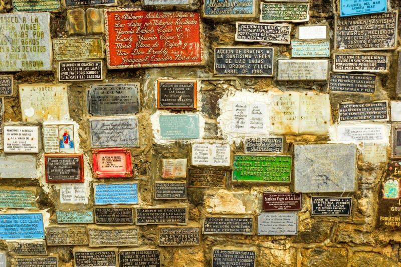 Prières découpées par pierre image libre de droits