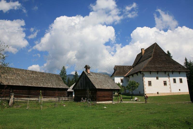 Download Pribilina, Slovacchia immagine stock. Immagine di prato - 7315493