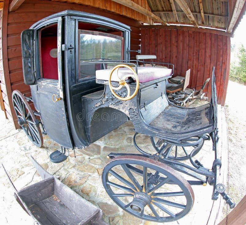 Pribylina - под открытым небом музей на зоне Liptov, Словакии стоковое изображение rf