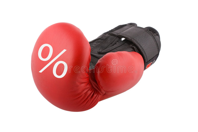 Price. Fight for a good price royalty free stock images