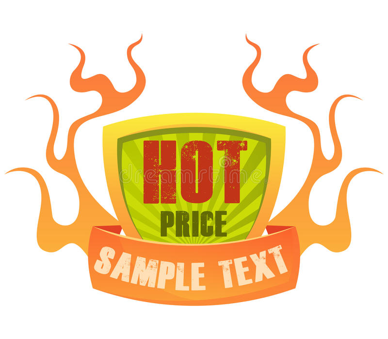 Download Price badge 2 stock vector. Image of logos, graphic, fiery - 13963740