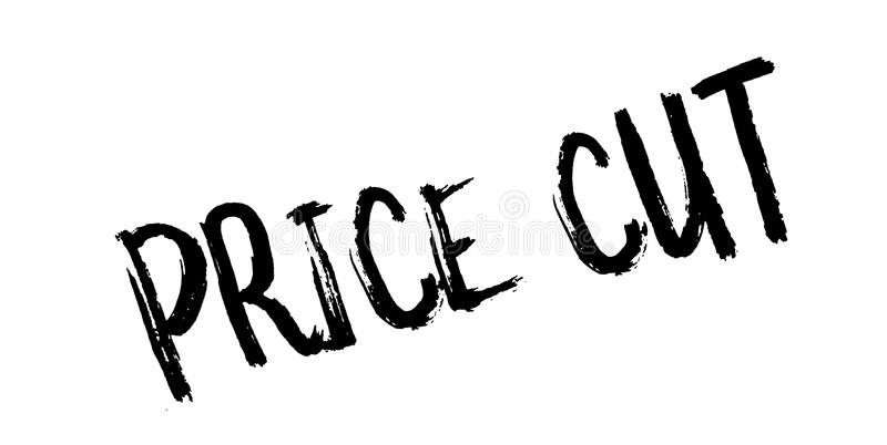Price Cut rubber stamp. Grunge design with dust scratches. Effects can be easily removed for a clean, crisp look. Color is easily changed vector illustration