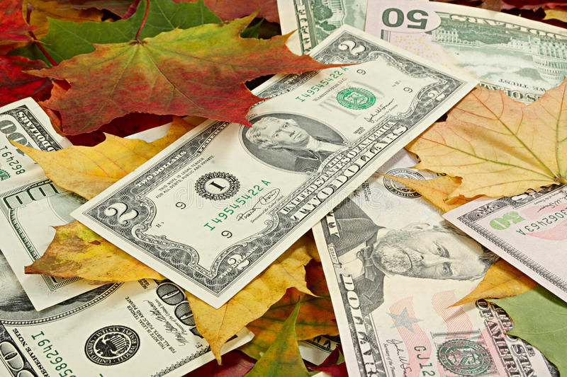 Download Price decline stock photo. Image of dollars, fall, foliage - 26716534