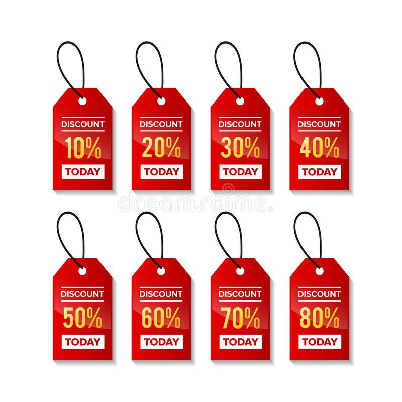Price discount sale tag vector royalty free stock photography