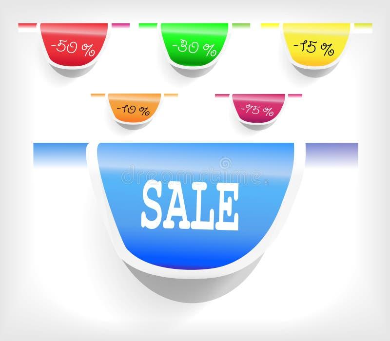Price labels vector illustration