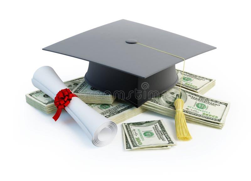 Price Leaving Certificate stock illustration