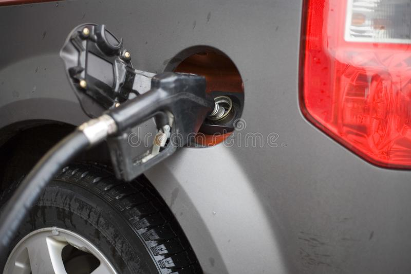 Price at the pump royalty free stock images