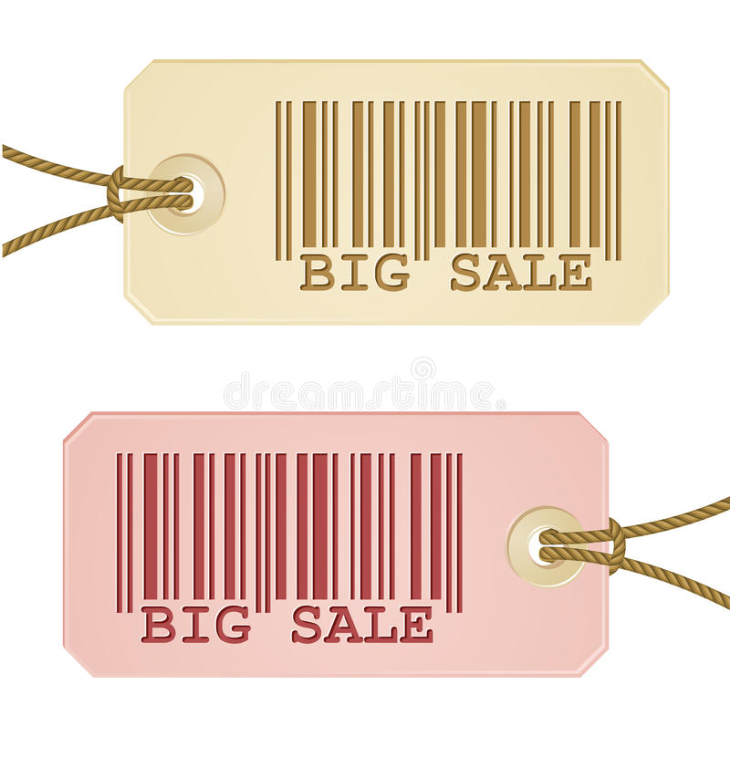 Download Price tag with barcode stock vector. Image of market - 16050051